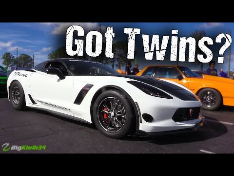 Twin Turbo Corvette is World's Quickest C7
