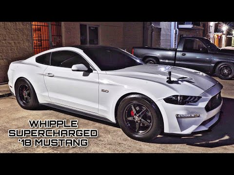 Twin Turbo Mustang vs. Procharged Corvette – Street Hits