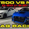 GT500 vs M8