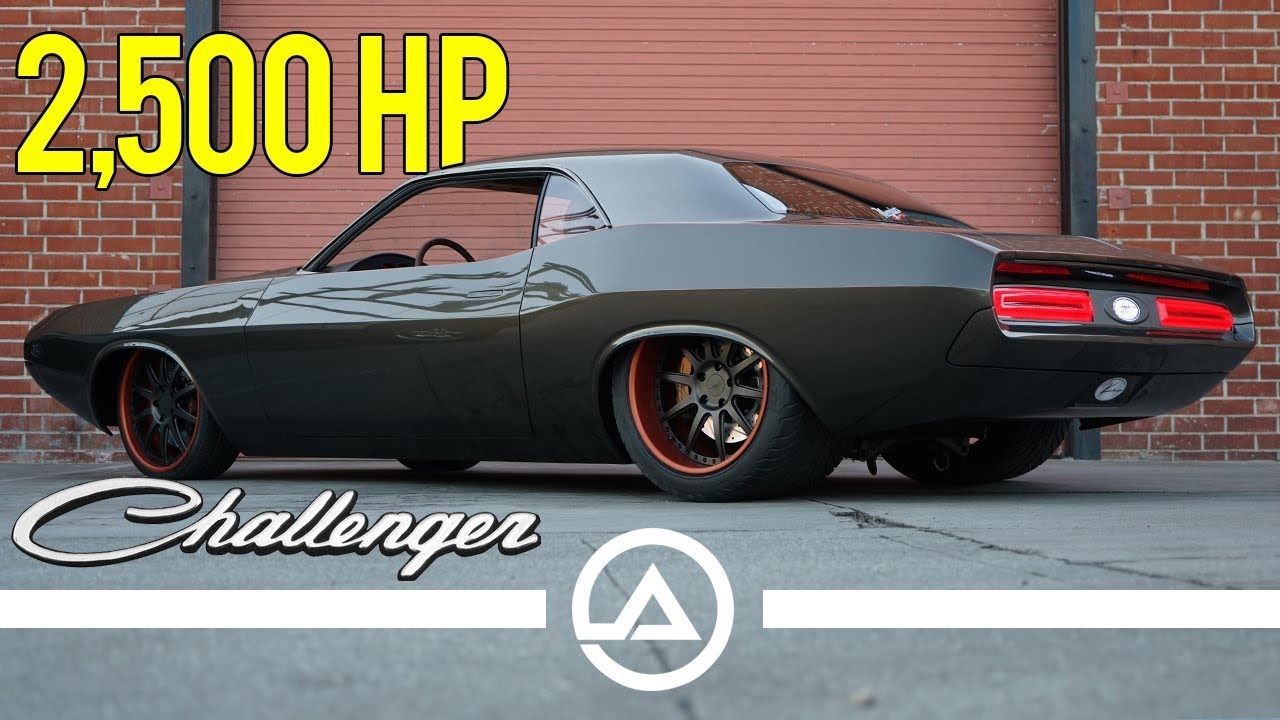 Havoc 2500WHP Restomod Dodge Challenger