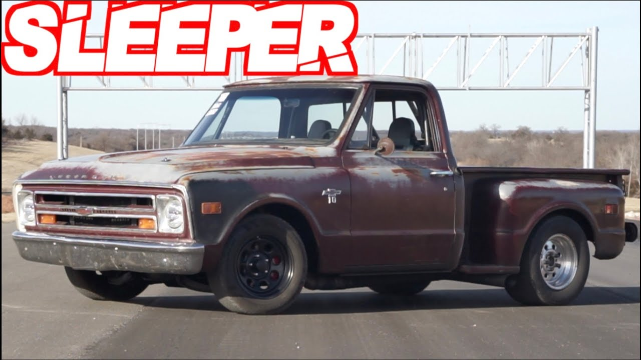 Trolling the Streets – Twin Turbo Chevy C10