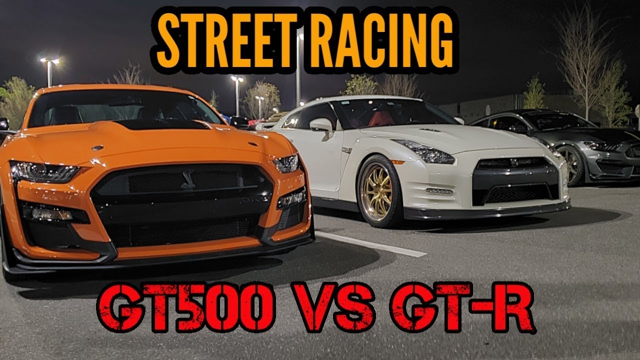 World's Fastest Shelby GT500 – Street Hits vs. Nissan GT-R, Porsche 991, EVO, and More