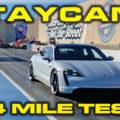 Porsche Taycan 1/4 Mile Results