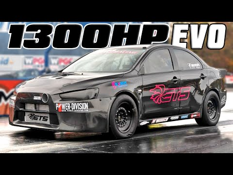 1300HP ETS EVO – First 7-Second Quarter Mile