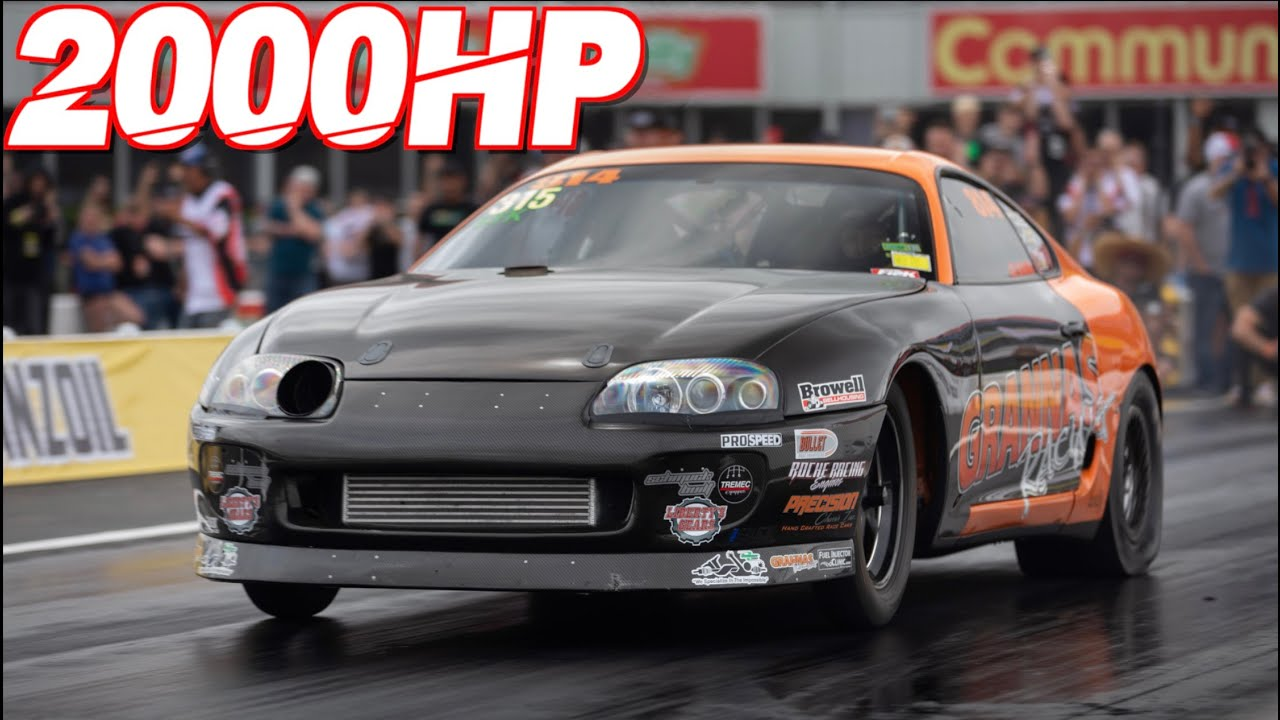 Grannas Racing – 2000HP Supra Goes 7.00 @ 208 MPH