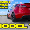 Tesla Model Y Performance 1/4 Mile Testing