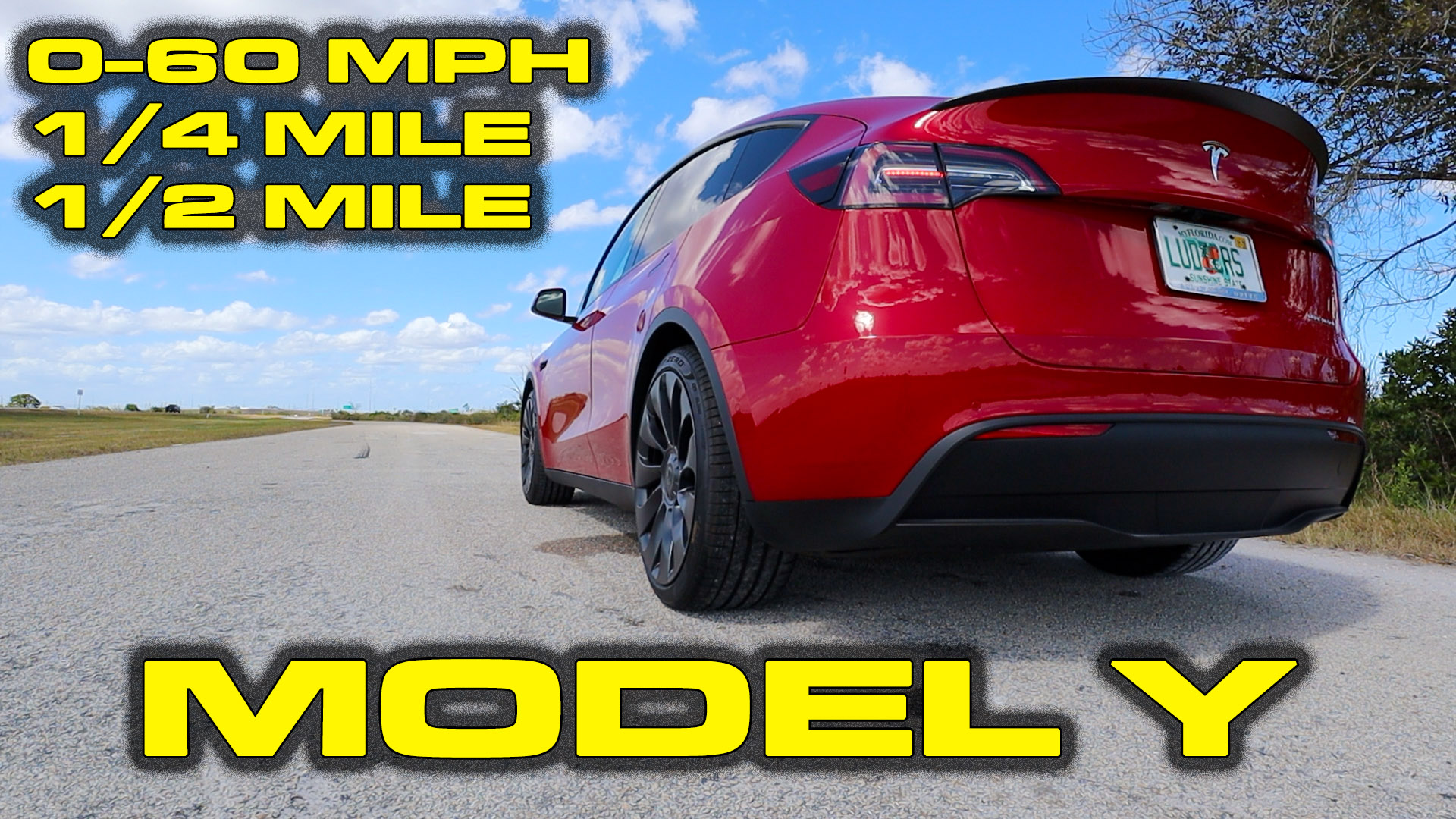 Tesla Model Y Performance Review and Testing; 0-60, 1/4 mile, 1/2 Mile
