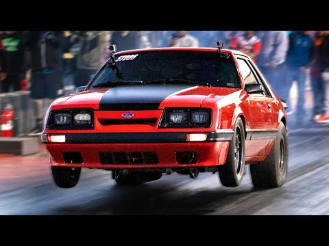 1700HP Four-Eyed Fox Body – Double Duty on the Drag Strip