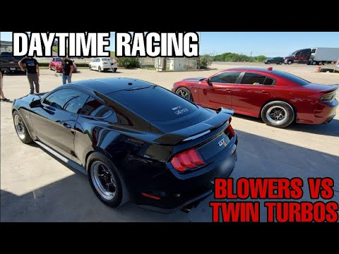 High Noon Street Hits – Whipple Mustang vs. TT F-150 and TT CTS-V