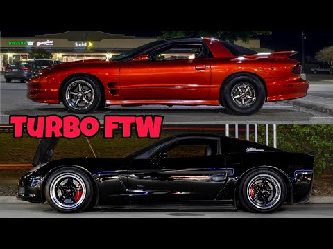 Nasty Turbo Trans Am vs. TVS Mustang GT500 and More – Street Hits