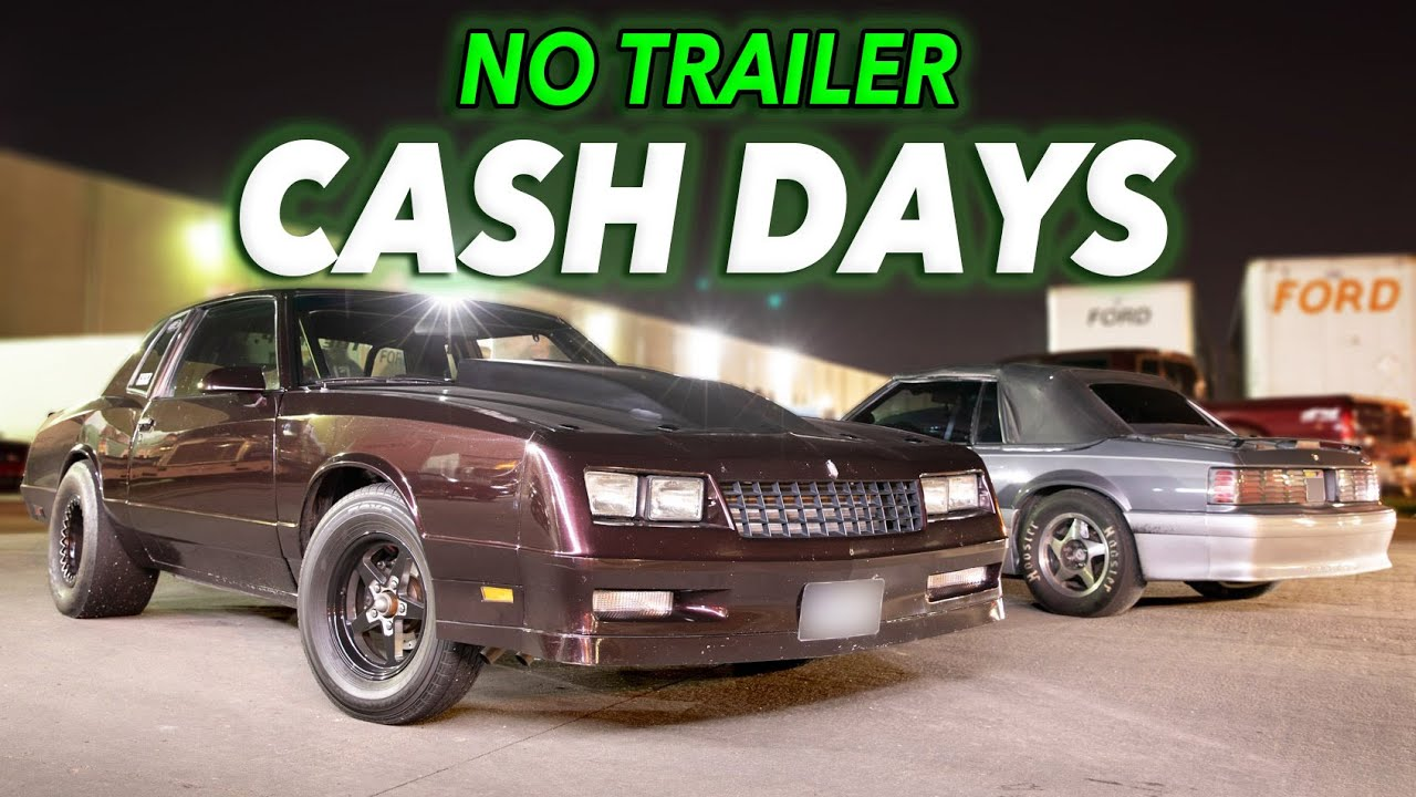 No Trailer Cash Days – 600-1000HP Cars Only
