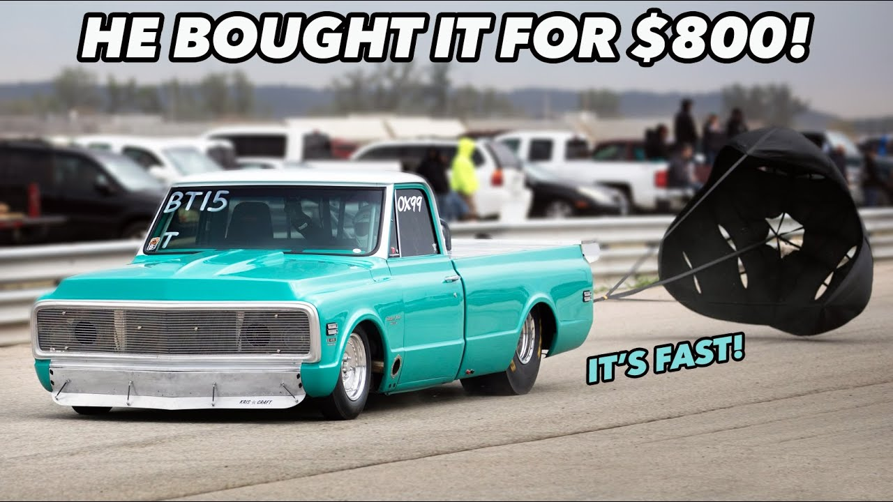 1971 Twin Turbo Chevy C10 – No Prep Monster