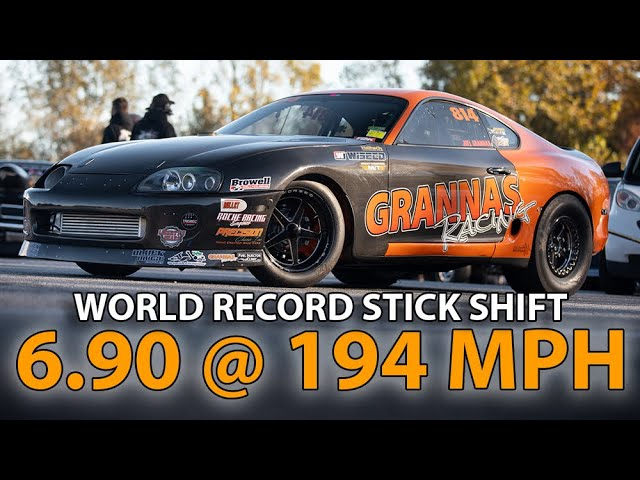 Orange Man Bad Supra Posts New World Record