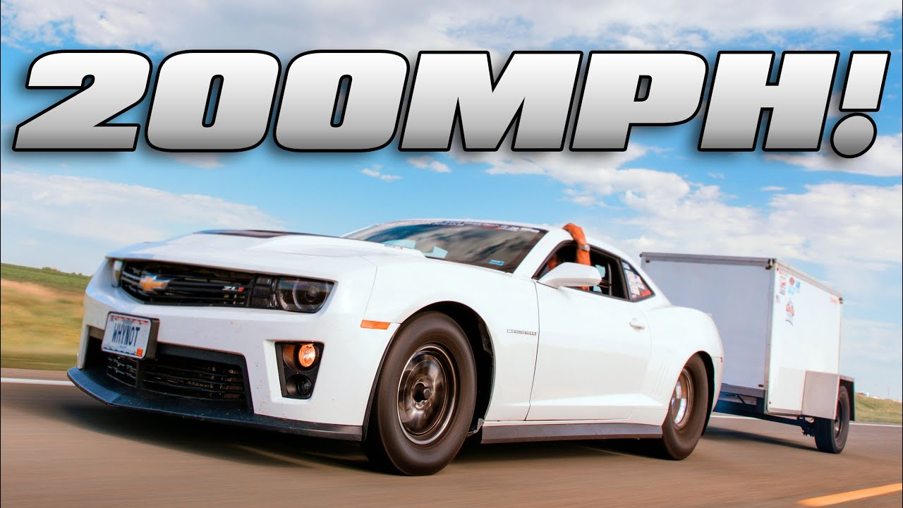 Rocky Mountain Race Week (Day 3)-3000HP Camaro ZL1