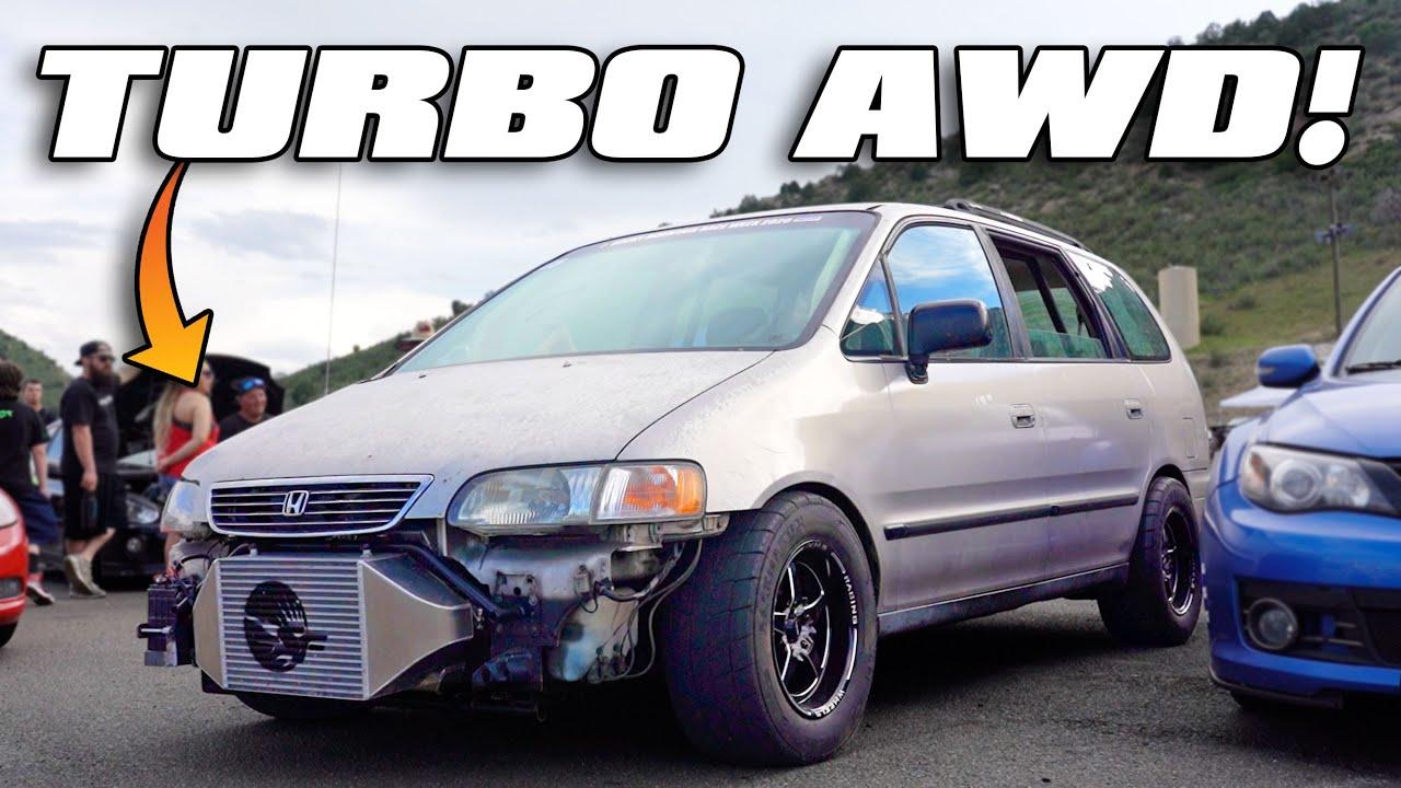 Rocky Mountain Race Week (Day Two)-888HP Turbo Mini Van