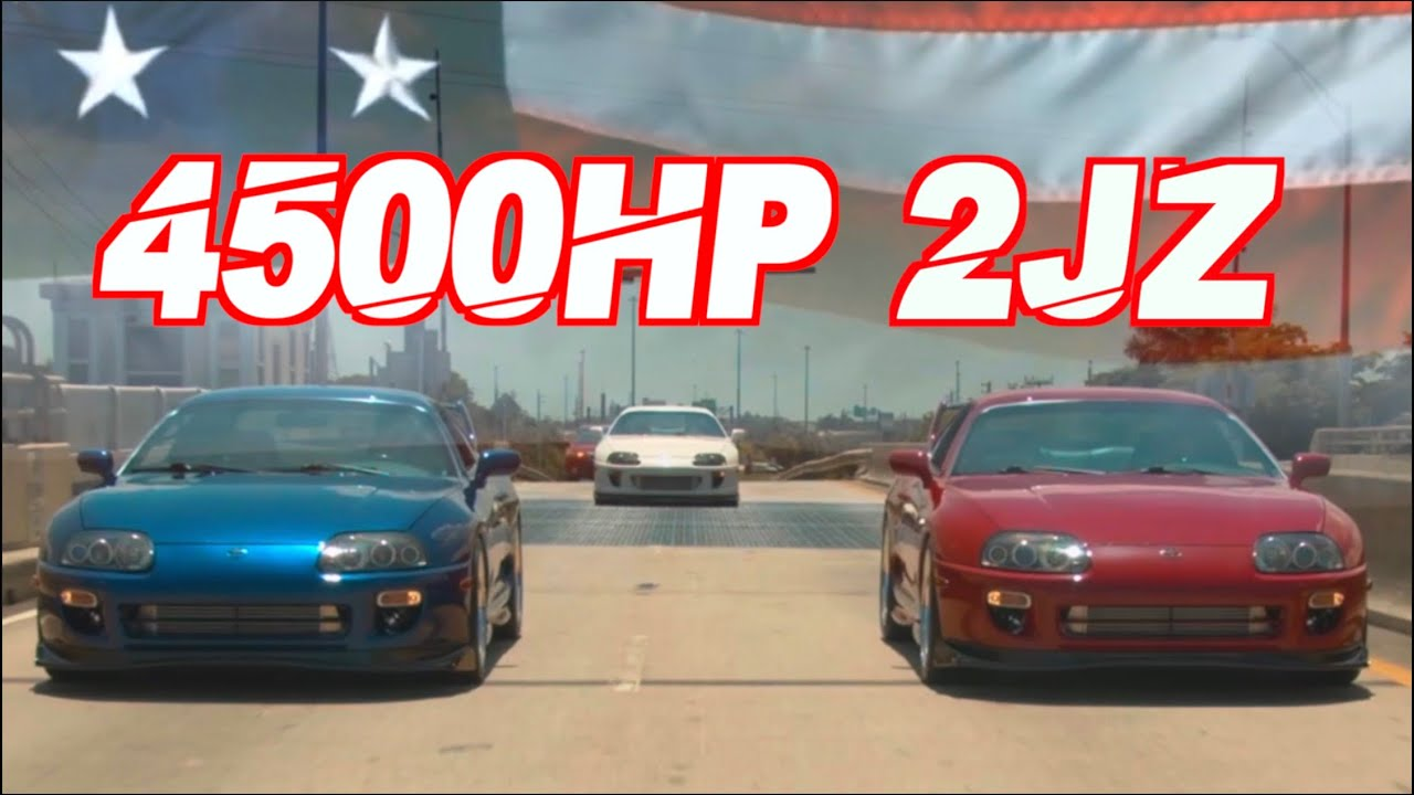 1500HP Supra Triplets – Street Hits