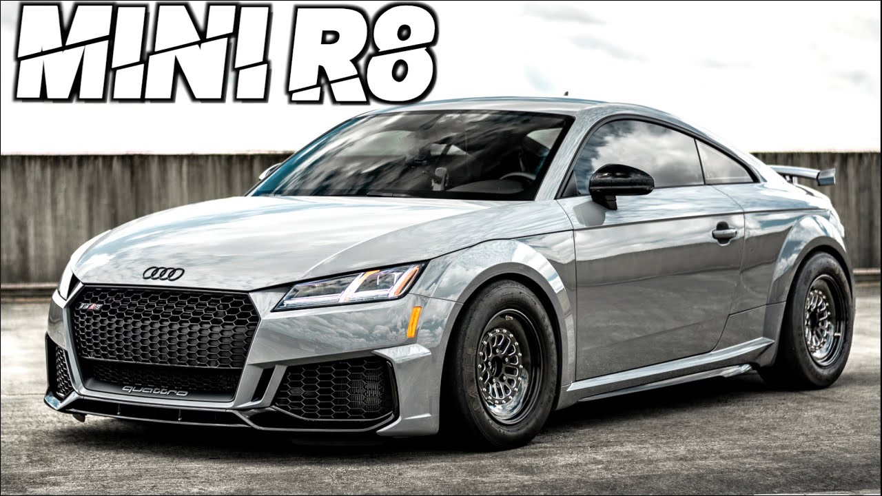 9-Second Audi TTRS Takes to the Streets