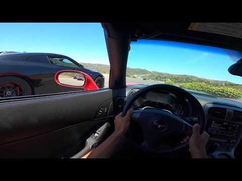 Corvette Z06 vs. Nissan GTR – Daytime Street Hits