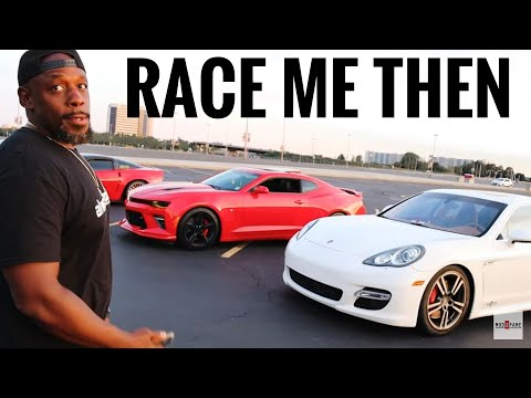 Camaro SS vs. Porsche Panamera – Street Hits