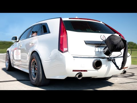 200 MPH Grocery Getter – Cadillac CTS V Wagon