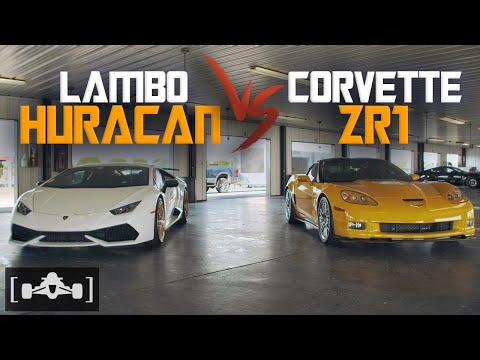 U.S.A. versus Italy – Huracan versus Corvette ZR1 Track Hits