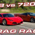 F8 vs 720S