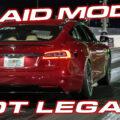 model s plaid mode runs 8's in 1/4 mile