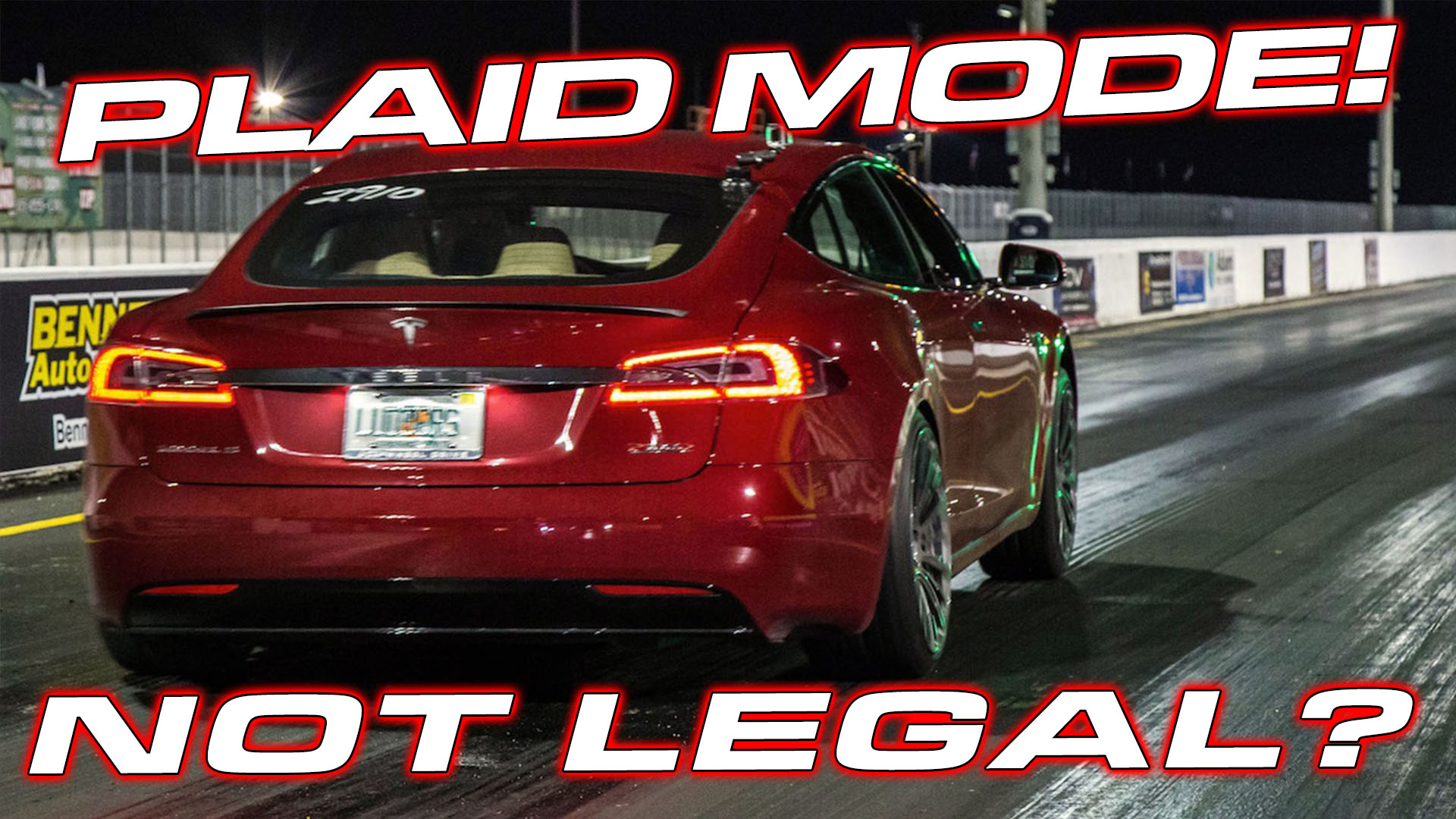 model s plaid mode runs 8's in 1/4 mile