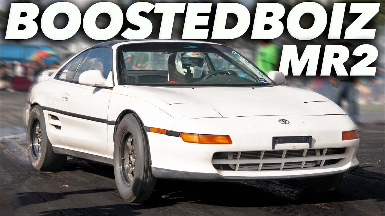 Honda Powered MR-2 Runs First 8-Second Quarter-Mile