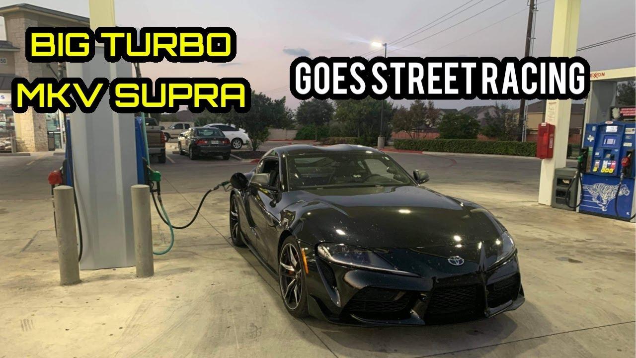 Street Hits – Turbo MKV Supra vs. Mustang GT500