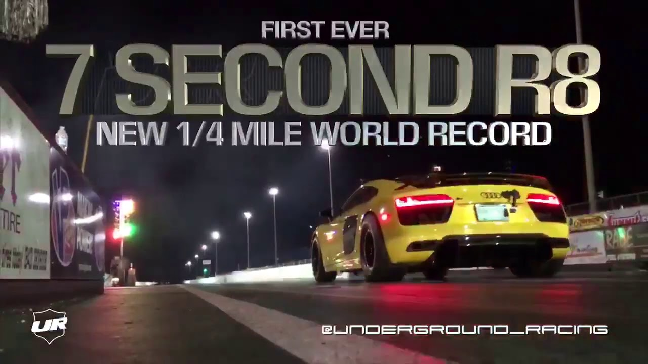 World's First 7-Second Audi R8