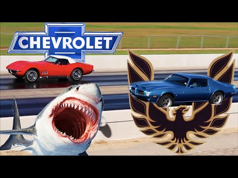 Stock Drag Race – 1969 Corvette 427 vs. 1973 Firebird Formula 455