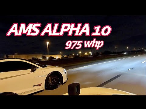 McLaren 720S vs. AMS Audi R8 and 1000HP Nissan GT R – Street Hits