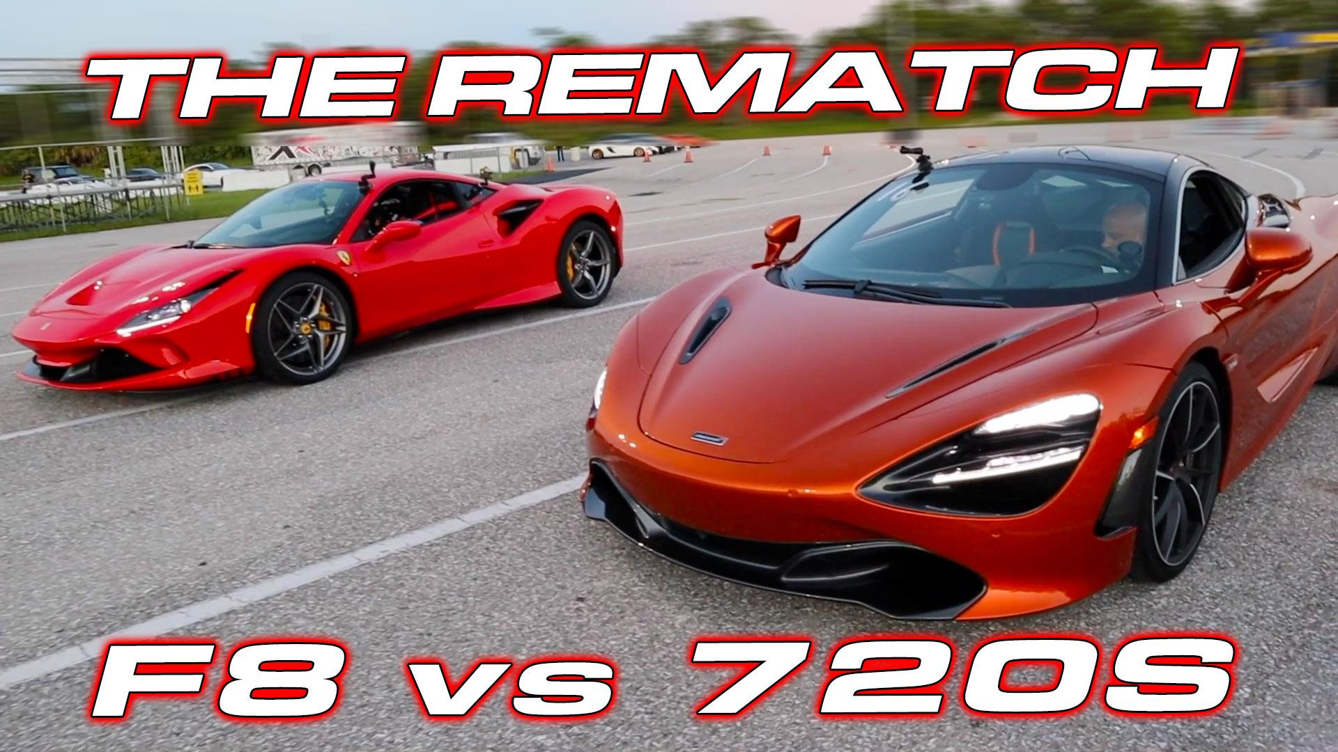 720S vs F8 Tributo