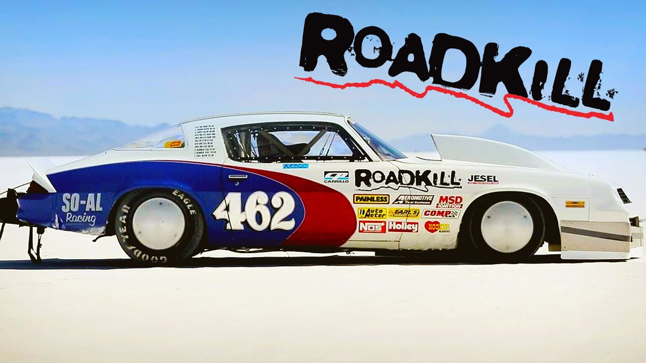 Land Speed Record Attempt-Gen II Camaro on the Bonneville Salt Flats