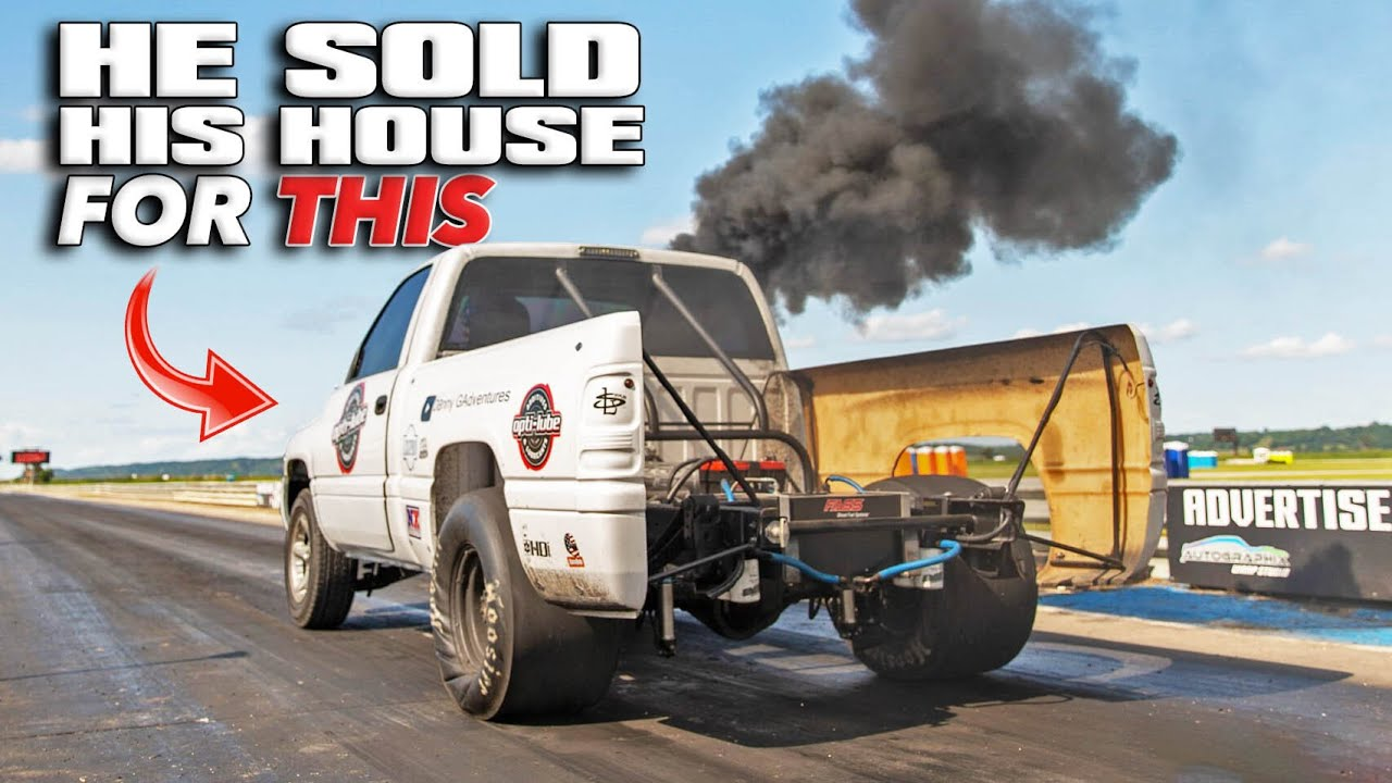 Rolling Coal – 6-Second Diesel Ram Pickup