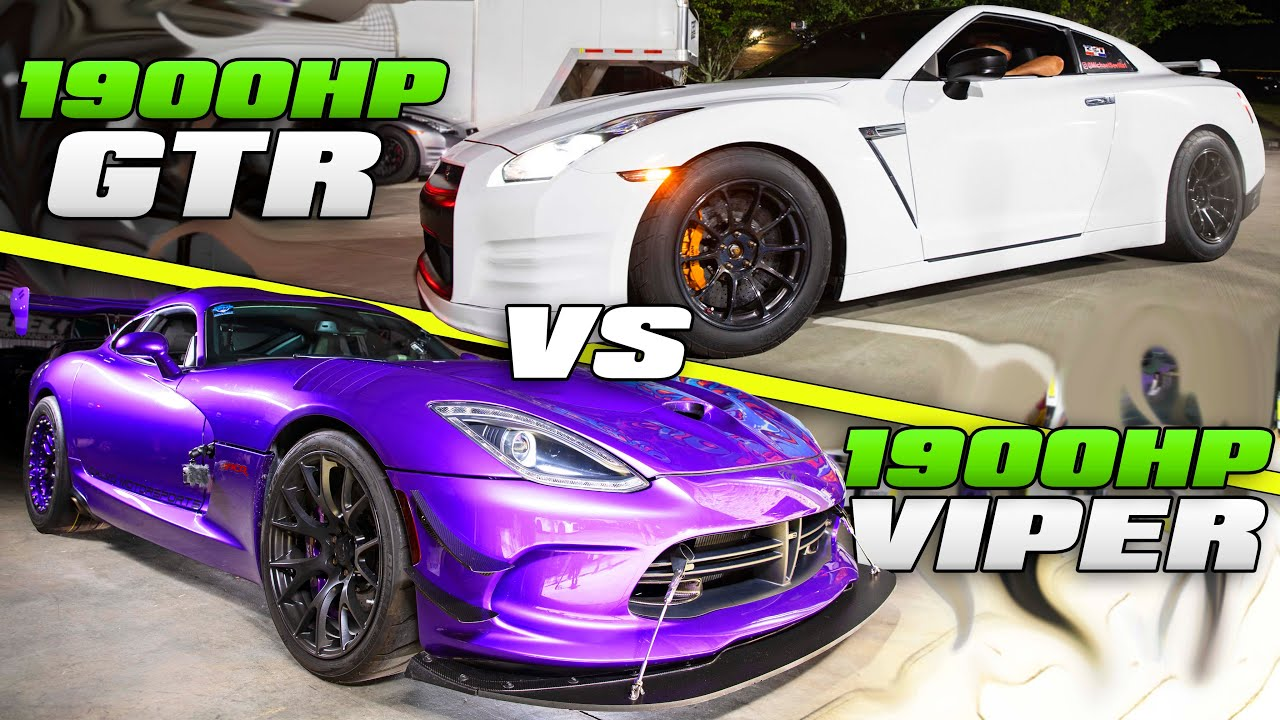 Street Attack – GT-R Pack Assaults 1900HP Calvo Viper