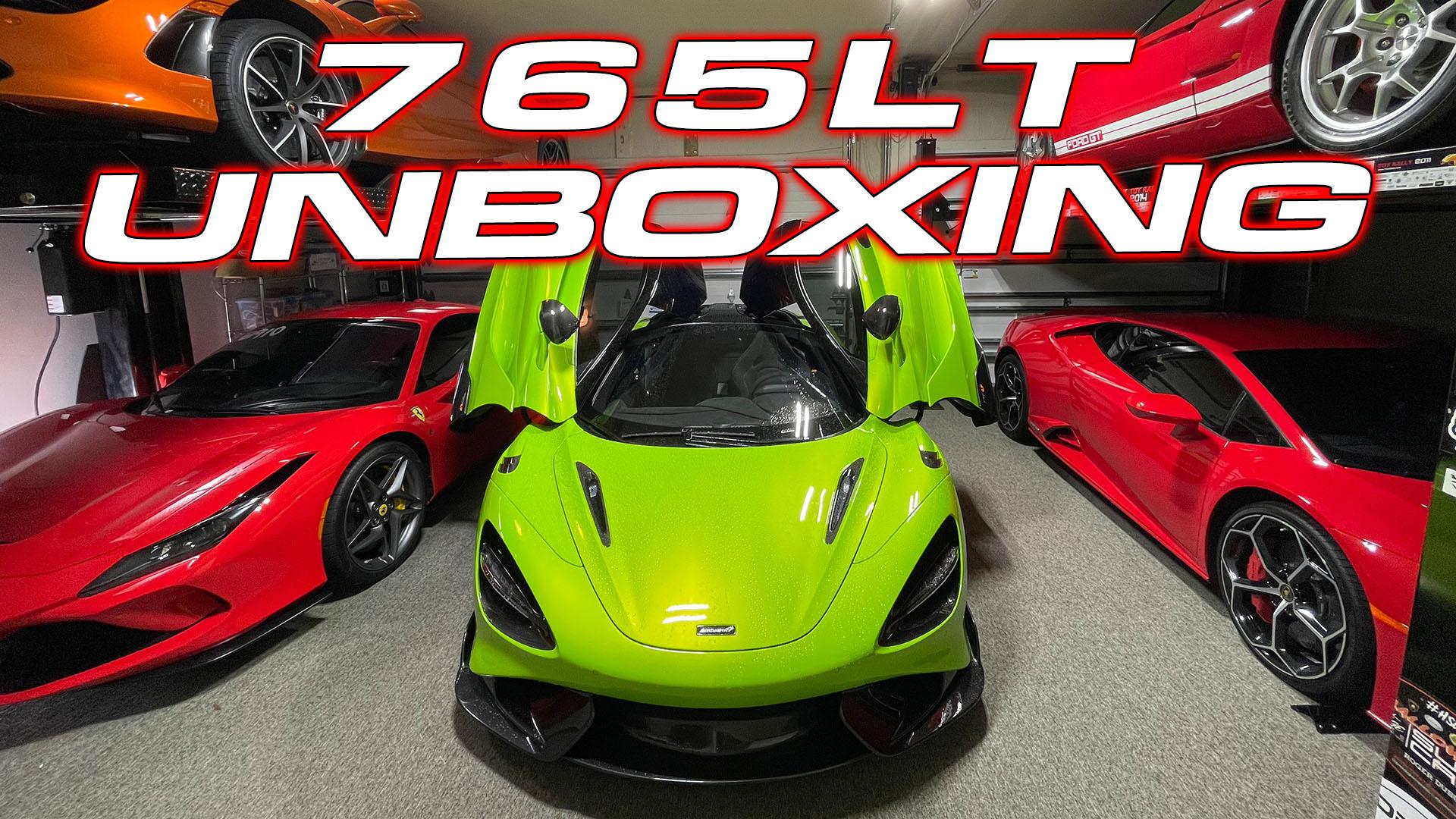 Napier Green McLaren 765LT Unboxing
