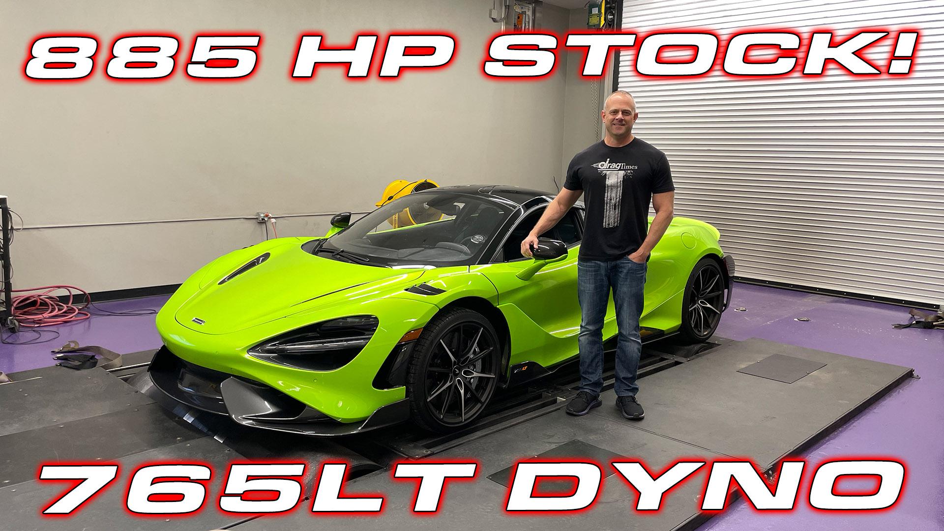 765LT Dyno Test