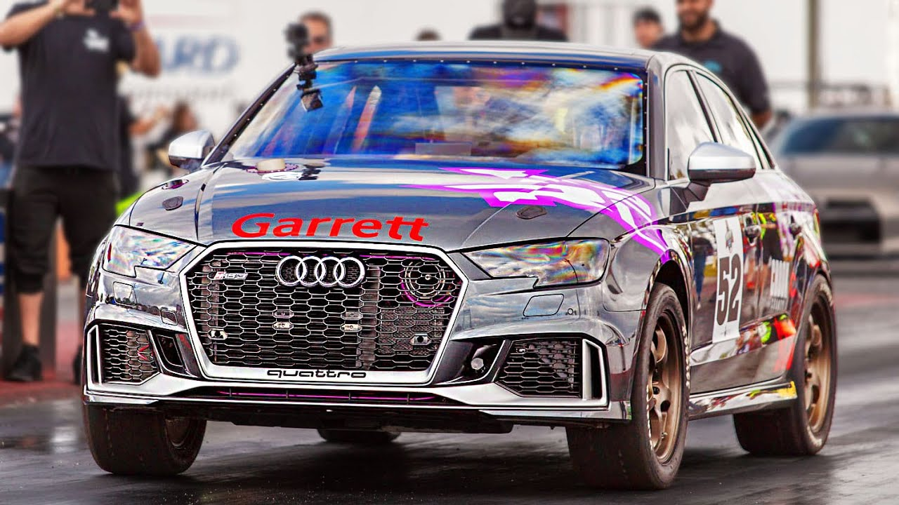 8-Second Audi RS3 – GT-R World Cup