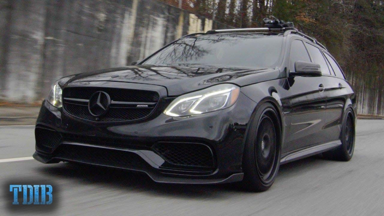 Crazy Fast Mercedes Street Sleeper – 900HP E63 AMG