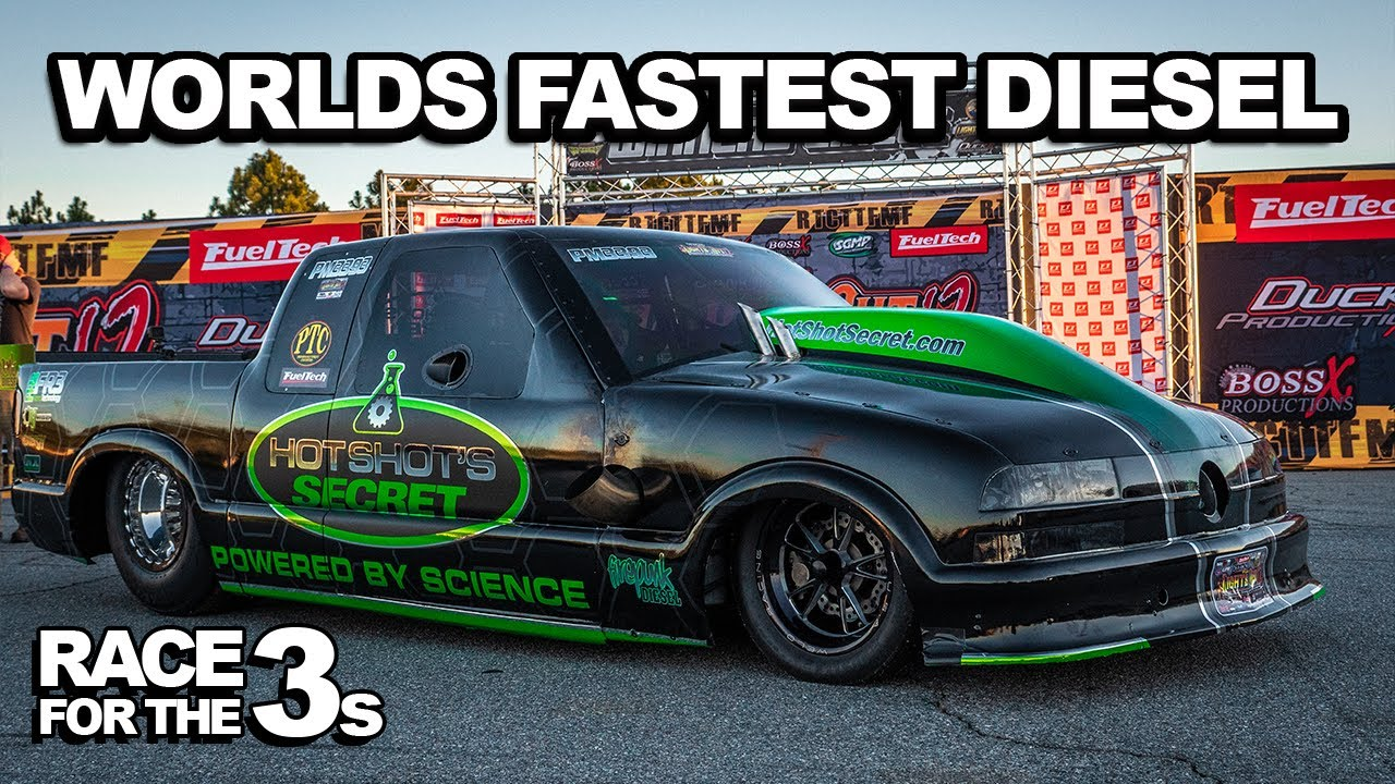 Rolling Coal – World's Fastest Diesel Drag Truck