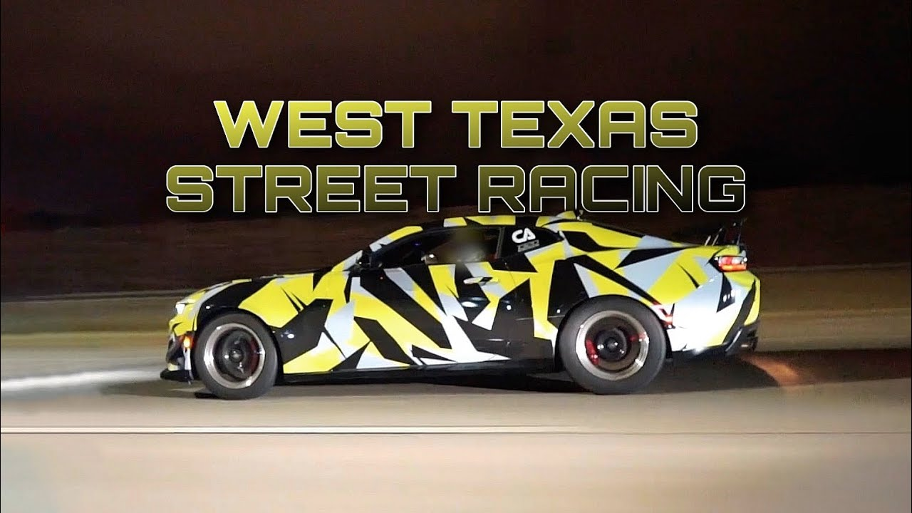 West Texas Street Hits – Turbo LS Mustang vs Nitrous Chevy Bel Air