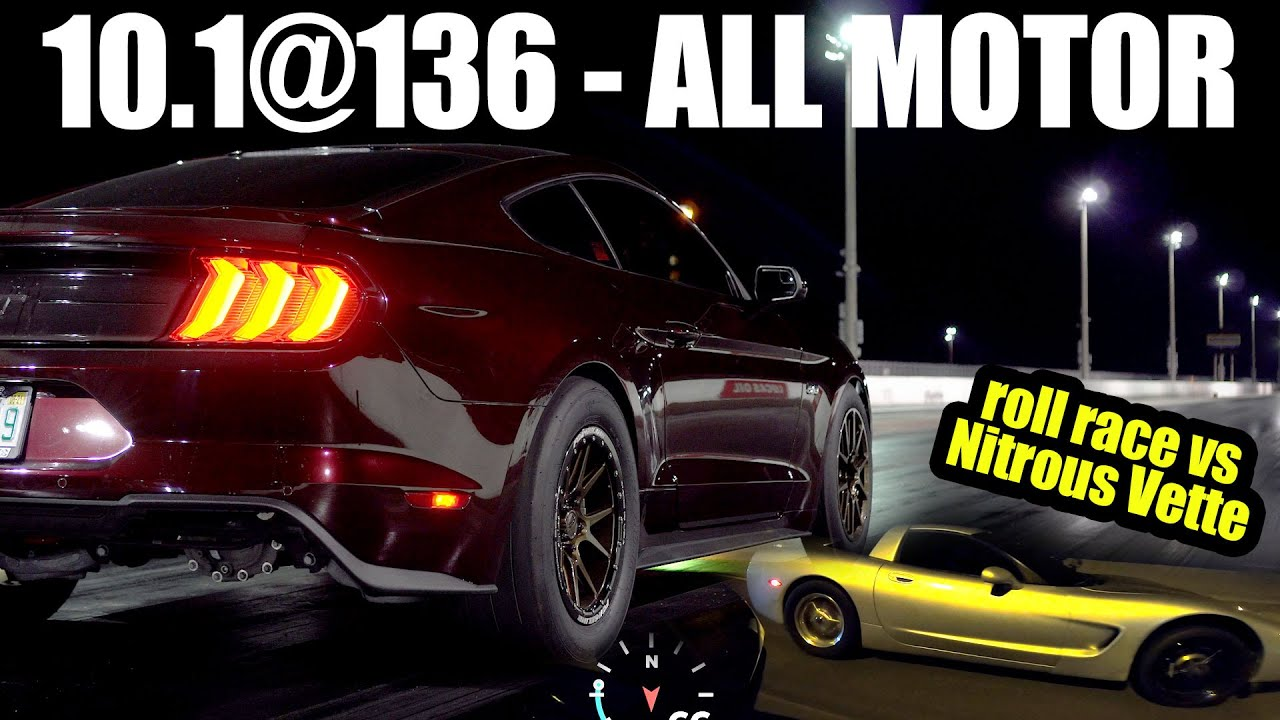 10-Second All Motor Mustang GT – Street Hits