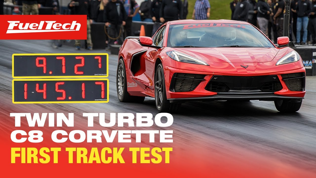 9-Second Twin Turbo C8 Chevrolet Corvette by FuelTech