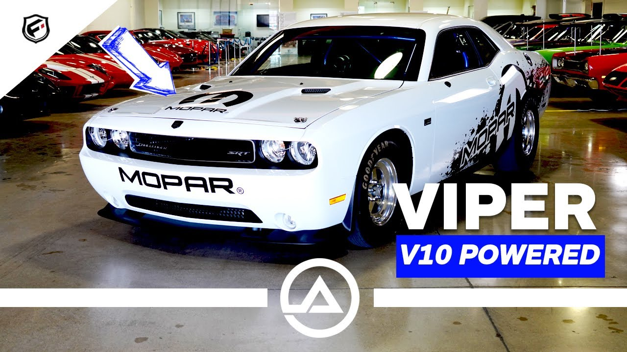 900HP Dodge Challenger Drag Pack with V10 Viper Engine