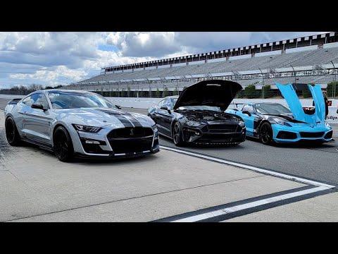 930WHP 2020 Mustang GT500 vs Streetspeed ZR1 – Roll Racing at Pocono