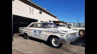 Drag Racing History – Mickey Thompson's 427 HEMI Galaxy 500