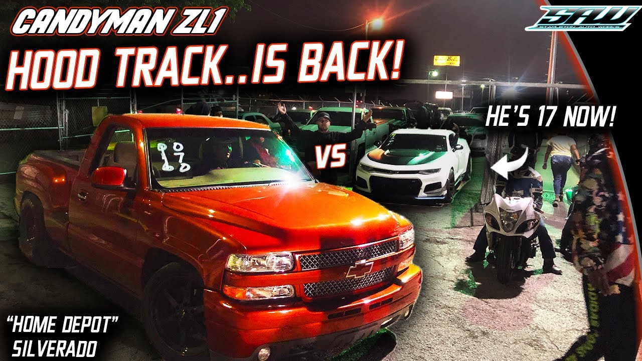 Dragstrip Grudge Racing – Camaro ZL1 vs. Hellcat Redeye
