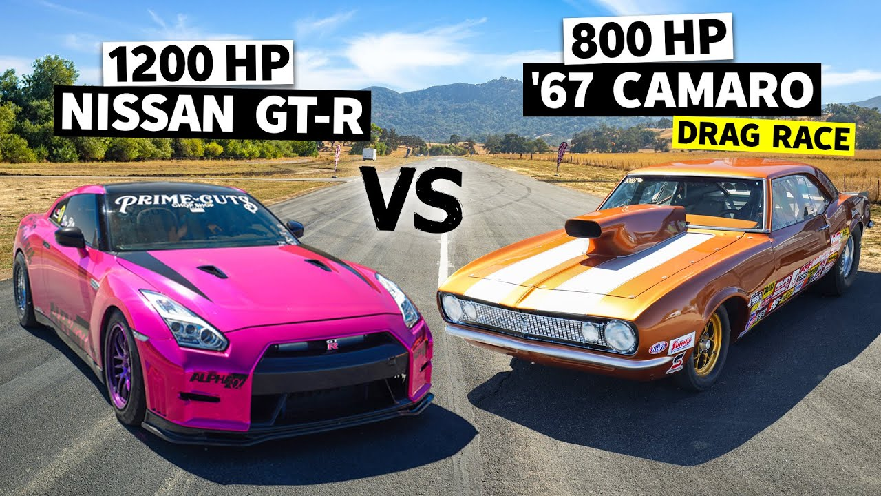Import vs. Domestic – Twin Turbo GT-R vs. All-Motor 1967 Camaro